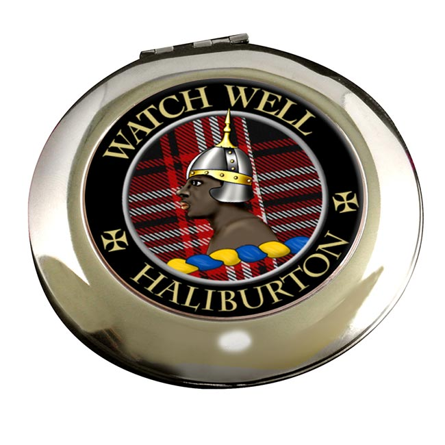 Haliburton Scottish Clan Chrome Mirror