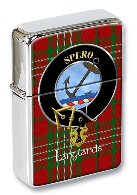 Langlands Scottish Clan Flip Top Lighter