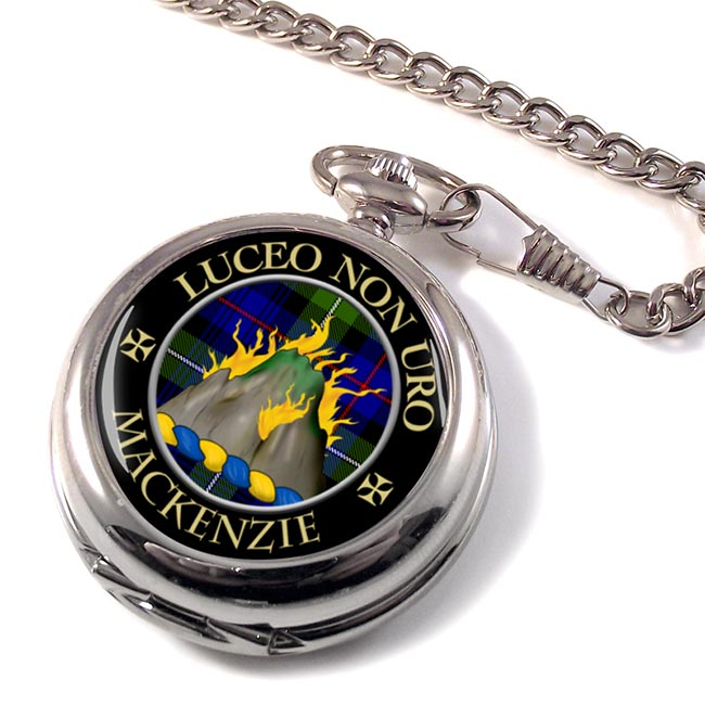 Mackenzie Scottish Clan Pocket Watch
