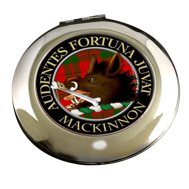 Mackinnon Scottish Clan Chrome Mirror