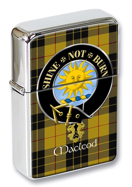 Macleod of Lewis (English) Scottish Clan Flip Top Lighter