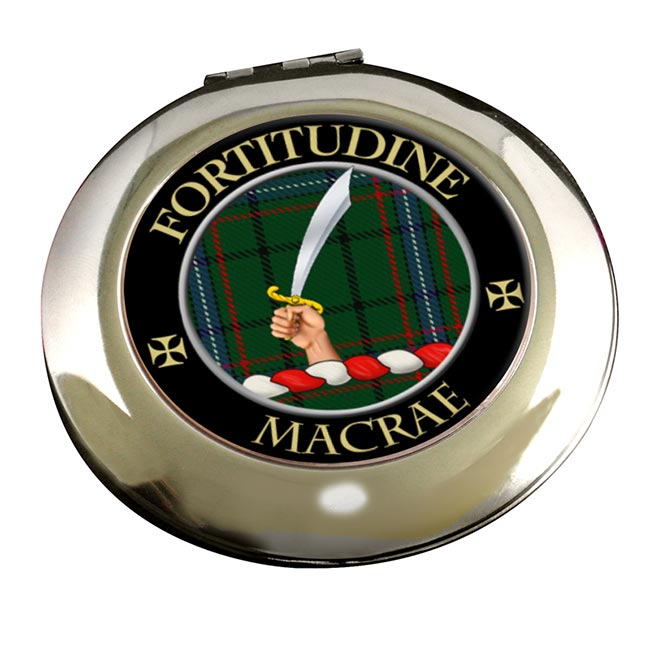 Macrae Scottish Clan Chrome Mirror