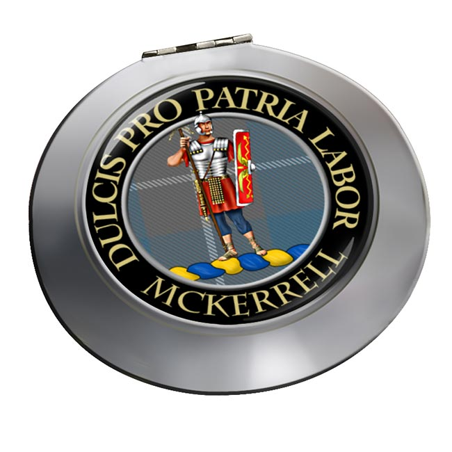 McKerrell Scottish Clan Chrome Mirror