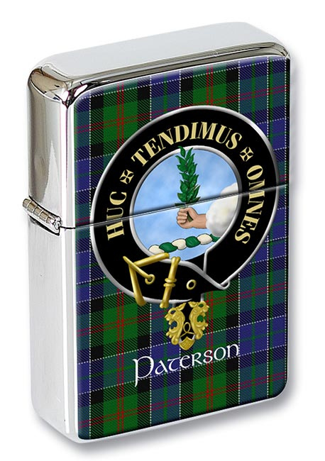 Paterson Scottish Clan Flip Top Lighter