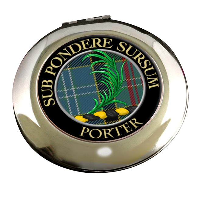 Porter Scottish Clan Chrome Mirror