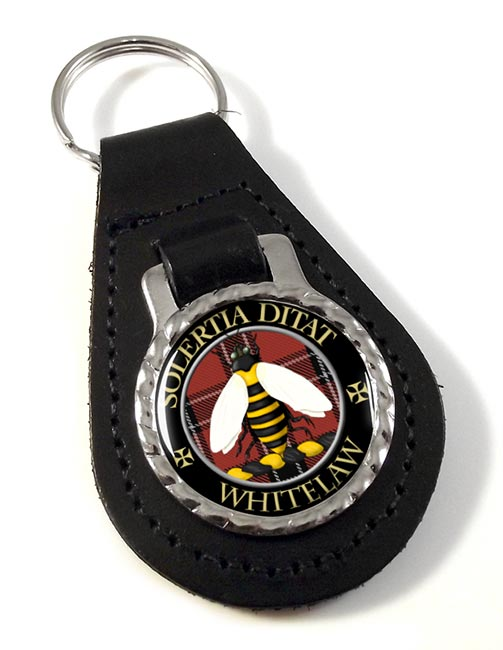 Whitelaw Scottish Clan Leather Key Fob