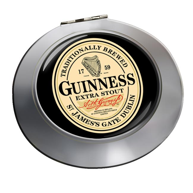 Guinness Chrome Mirror