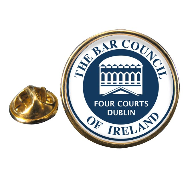 Bar Council of Ireland Round Pin Badge