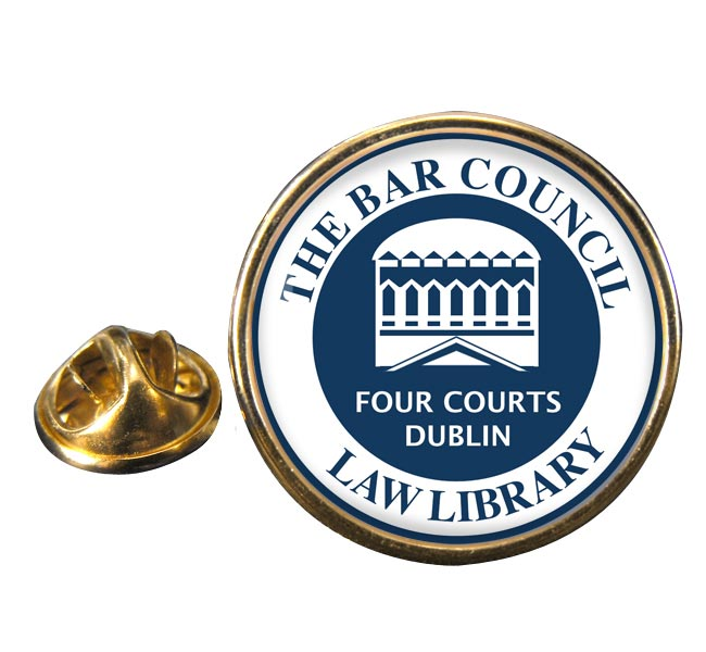 Bar Council Law Library Round Pin Badge