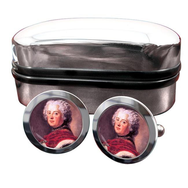 Frederick the Great Round Cufflinks