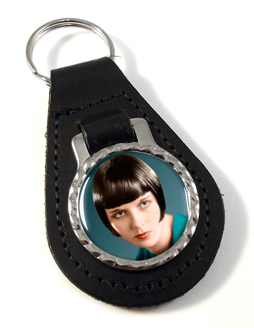 Louise Brooks Leather Key Fob