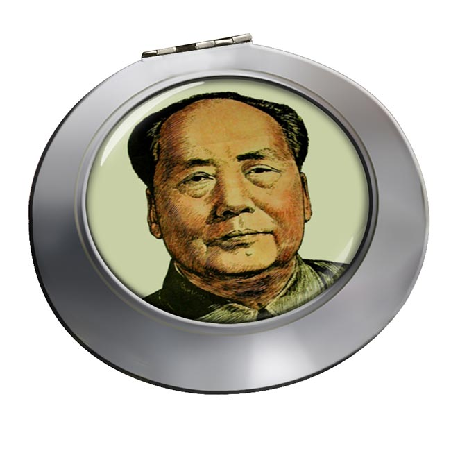Mao Tse-tung Chrome Mirror