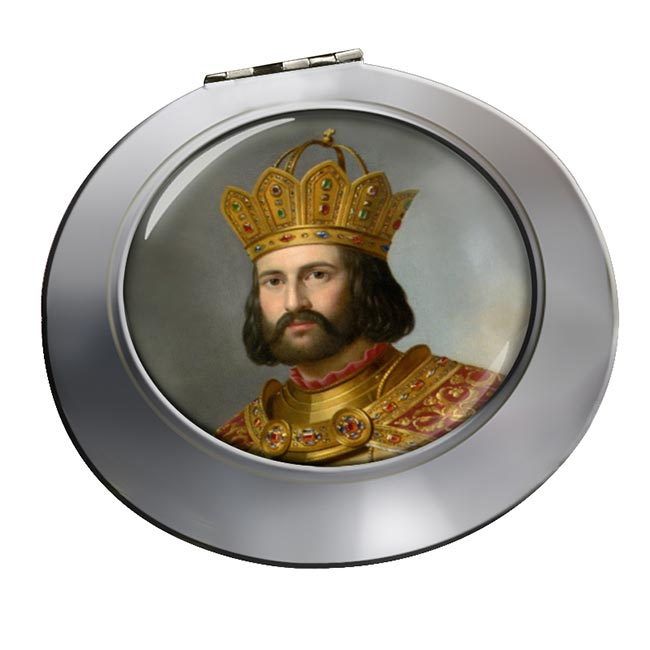 Holy Roman Emperor Otto I Chrome Mirror