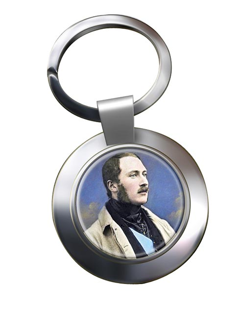 Albert Prince Consort Chrome Key Ring