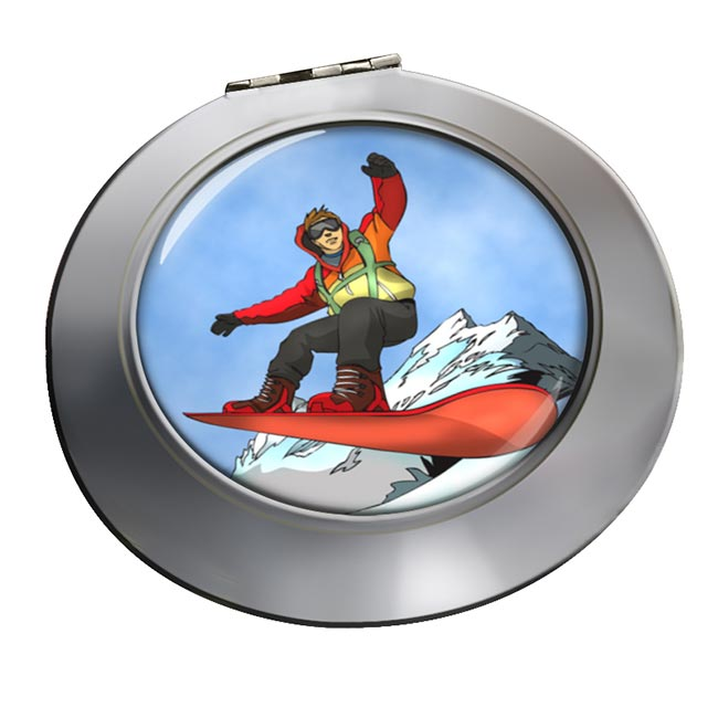 Snowboard Chrome Mirror
