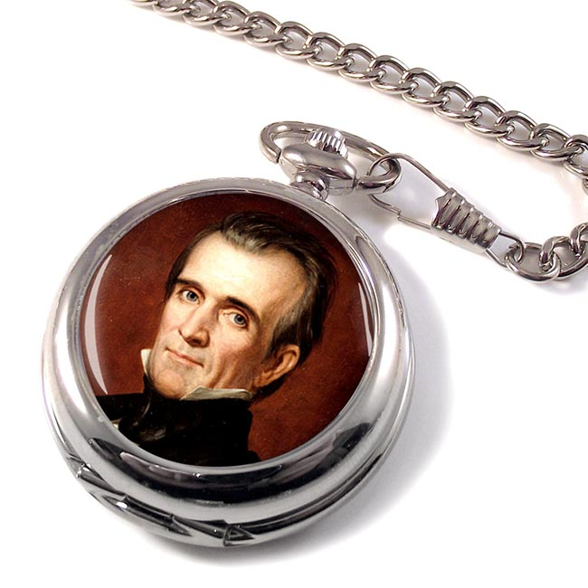 President James Polk Pocket Watch