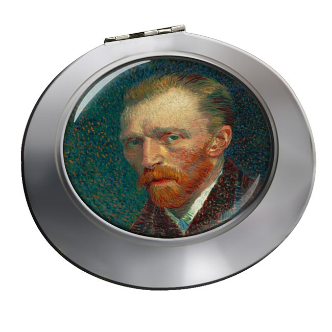 Vincent Van Gogh Chrome Mirror