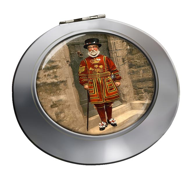 Victorian Yeoman of the Guard Chrome Mirror