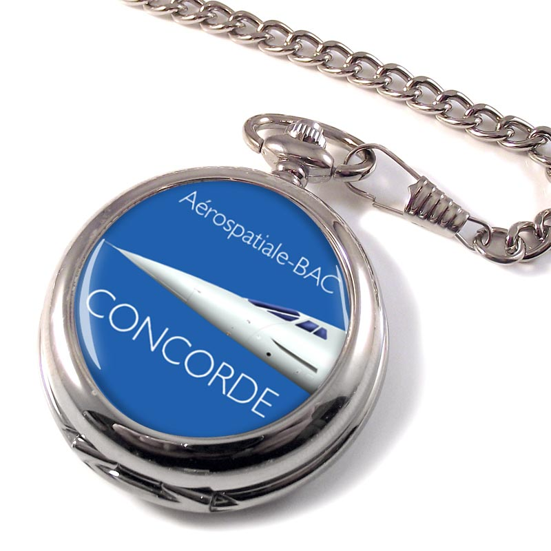 Nose of Concorde Pocket Watch