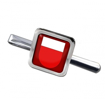 Lausanne (Switzerland) Square Tie Clip