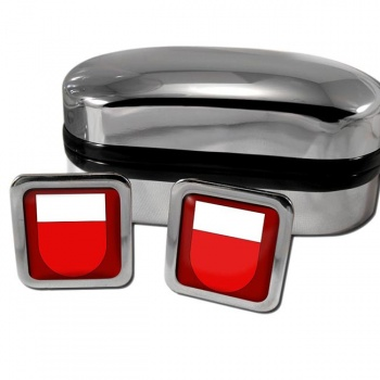 Lausanne Switzerland Square Cufflinks