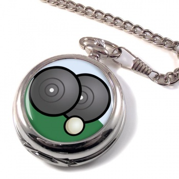 Lawn Bowls Pocket Watch