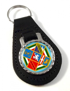 Lazio (Italy) Leather Key Fob