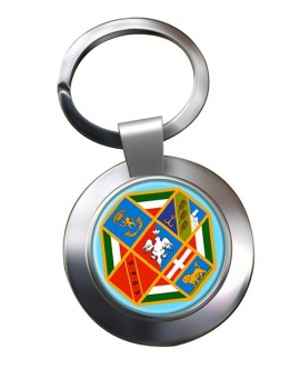Lazio (Italy) Metal Key Ring