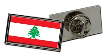 Lebanon Flag Pin Badge