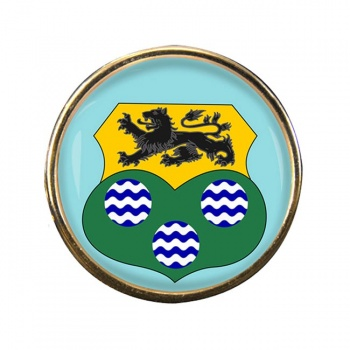 County Leitrim (Ireland) Round Pin Badge