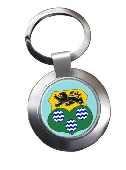 County Leitrim (Ireland) Metal Key Ring