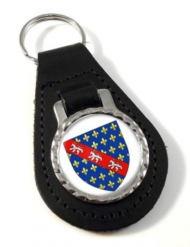 La Marche (France) Leather Key Fob