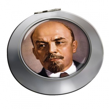 Vladimir Lenin Chrome Mirror
