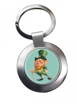 Leprechaun Chrome Key Ring