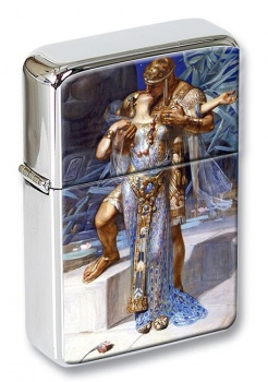 Antony and Cleopatra by Leyendecker Flip Top Lighter