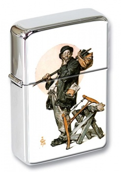 Tramp  by Leyendecker Flip Top Lighter