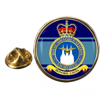 Lichfield Round Pin Badge