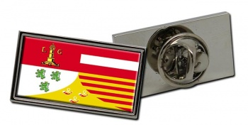 Liege (Belgium) Flag Pin Badge