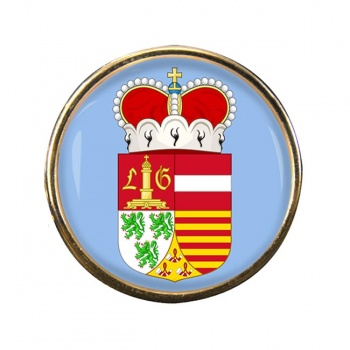 Liege (Belgium) Round Pin Badge
