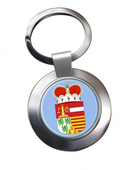 Liege (Belgium) Metal Key Ring