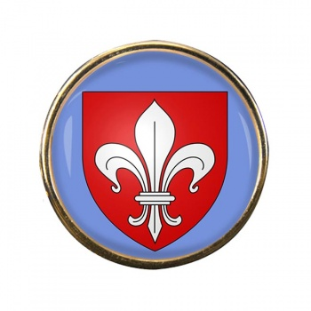 Lille (France) Round Pin Badge