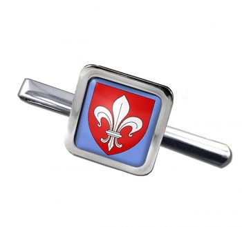 Lille (France) Square Tie Clip