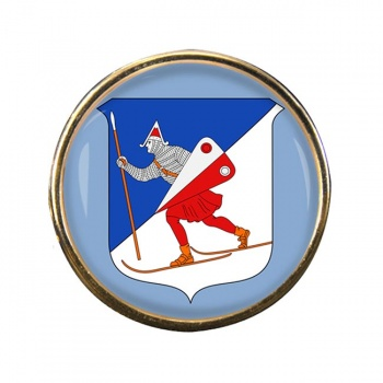 Lillehammer (Norway) Round Pin Badge