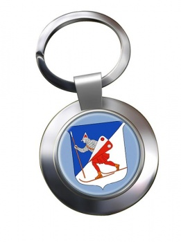 Lillehammer (Norway) Metal Key Ring