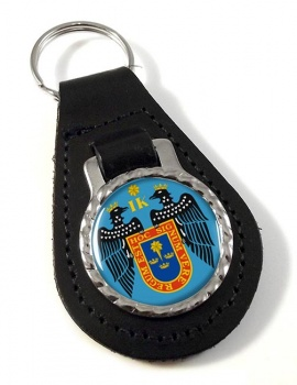 Lima (Peru) Leather Key Fob