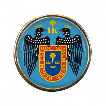 Lima (Peru) Round Pin Badge