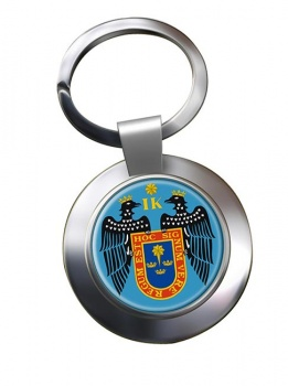 Lima (Peru) Metal Key Ring