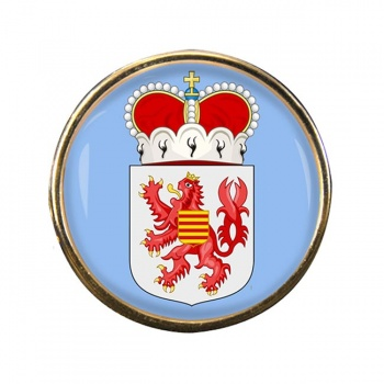 Limburg (Belgium) Round Pin Badge