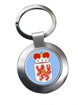 Limburg (Belgium) Metal Key Ring