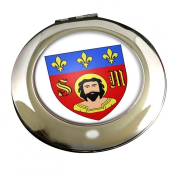 Limoges (France) Round Mirror
